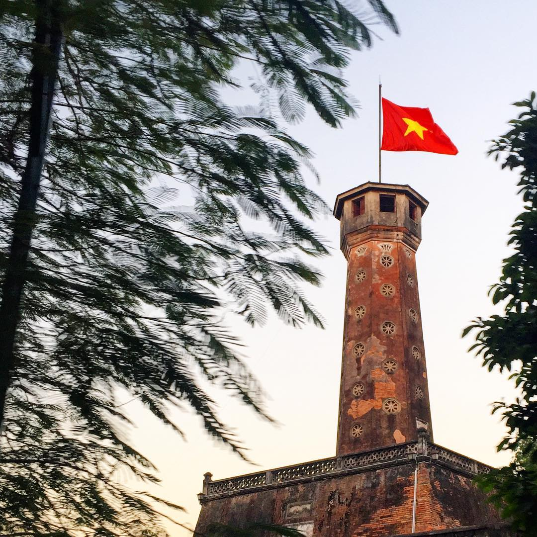 Flag Tower Amber Lounge Vietnam GP