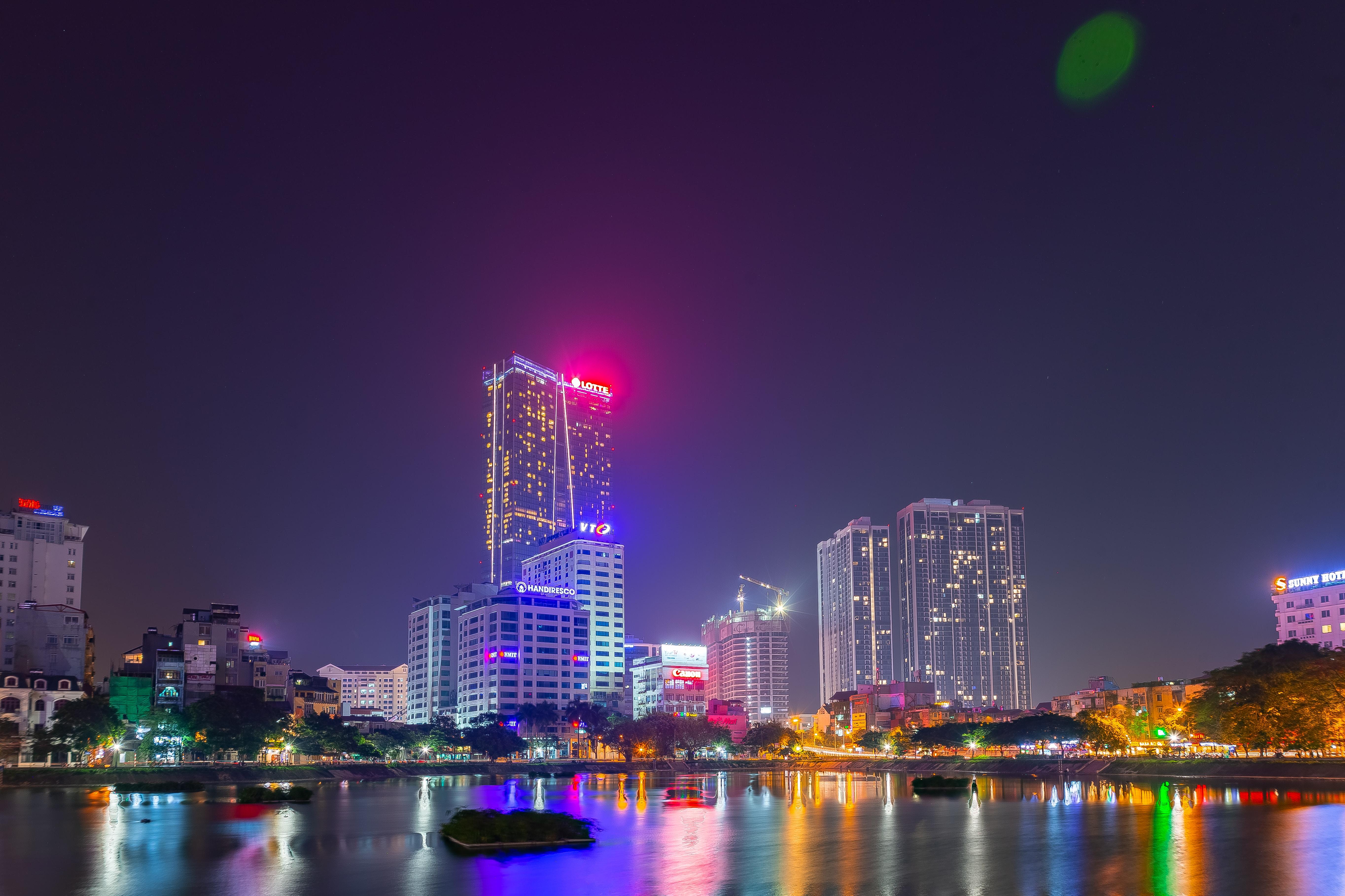 Hanoi Skyline Amber Lounge Vietnam GP
